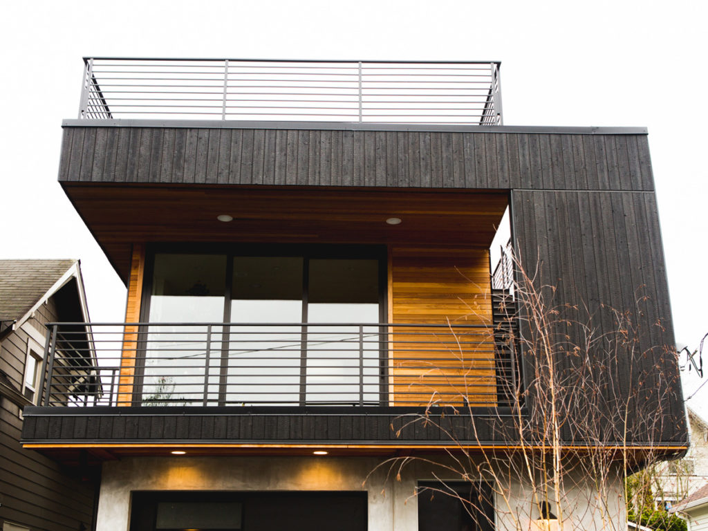 Midvale reference project Yakisugi exterior