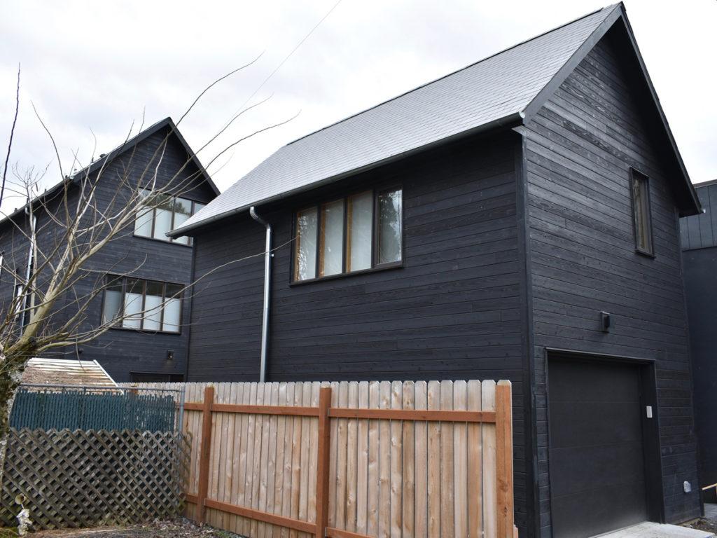 H Residence Yakisugi exterior