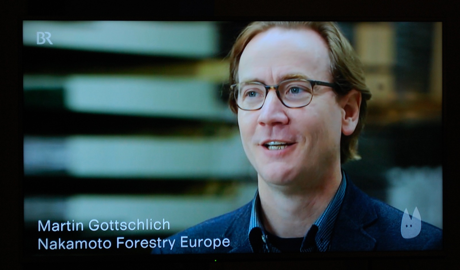 Picture of Martin Gottschlich of Nakamoto Forestry Europe
